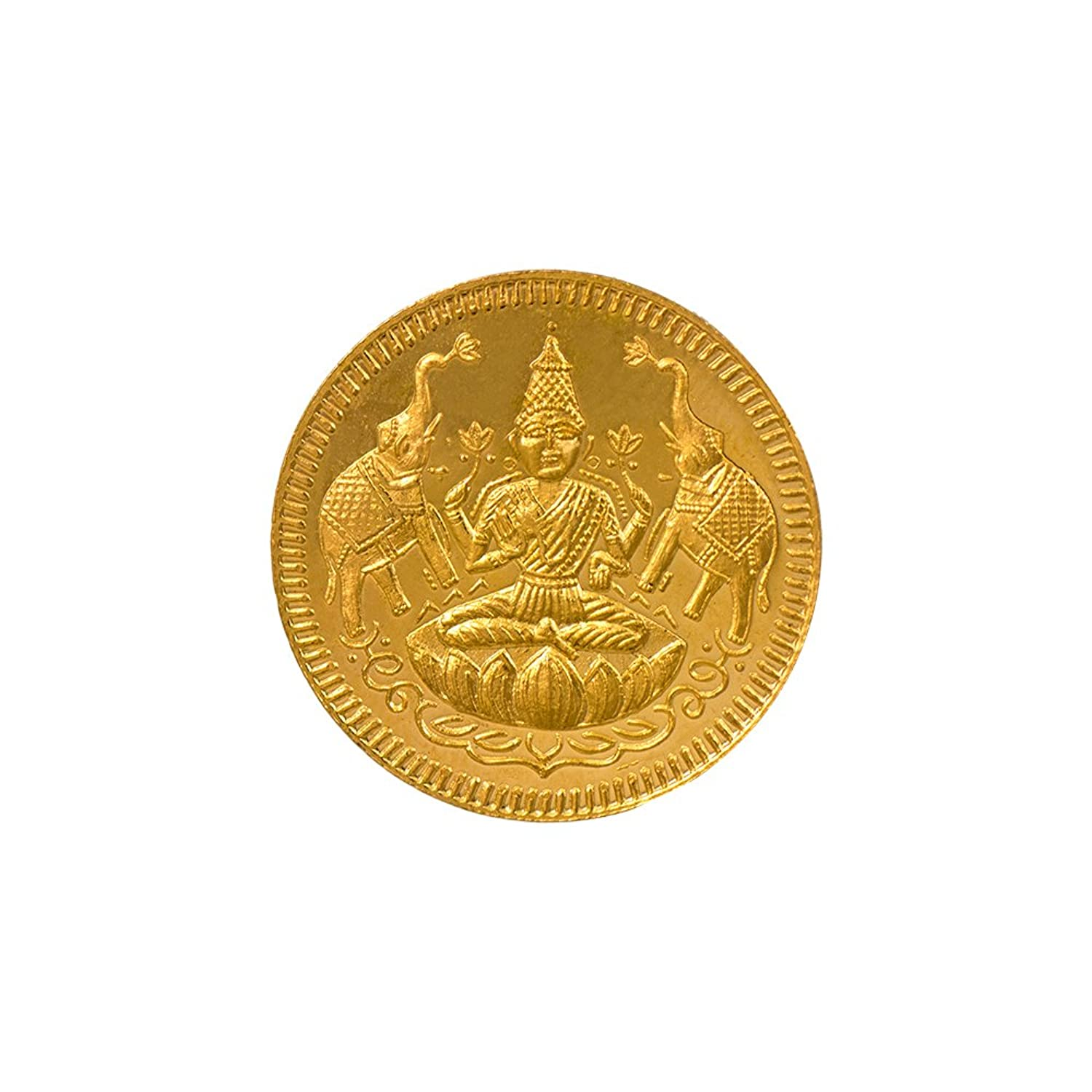 22k (916) 8 gm BIS Hallmarked Yellow Gold Precious Coin