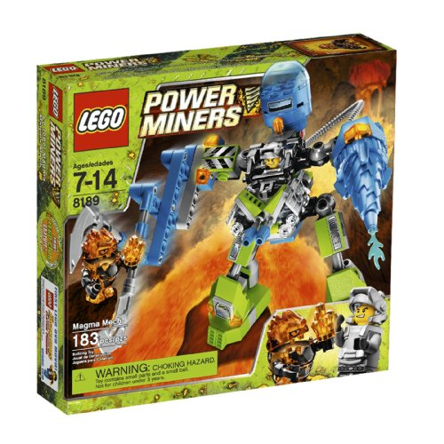 619U5sed35L Reviews LEGO Power Miners Magma Mech (8189)