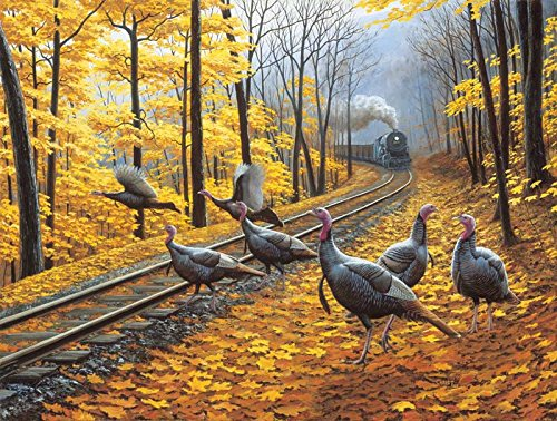 Turkey Tracks a 500-Piece Jigsaw Puzzle by Sunsout Inc.