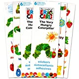 Eric Carle Stickers Party Favors (Set of 2 Sticker Packs) -- Over 200 Stickers