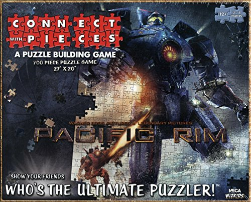 Connect with Pieces - Puzzle Building Game - Pacific Rim - 700 Pc