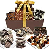 Mega Delectable Artisan Gourmet Chocolate Covered Gift Basket