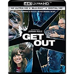 Get Out [4K Ultra HD + Blu-ray]
