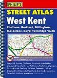 Philip's Street Atlas West Kent: Spiral Edition