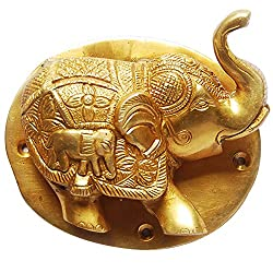 Elephant Door Knocker Made of Brass
