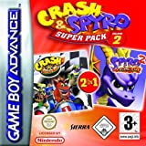 Crash and Spyro Super Pack Volume 2: Crash Nitro Kart/Spyro: Season of Flame (GBA)