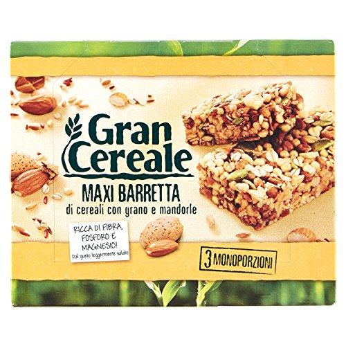 Gran Cereale, Barretta di Cereali (Grano e Mandorle)       105g