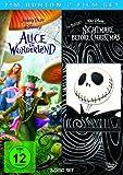Tim Burton 2-Film-Set (3 Discs): Alice im Wunderland/Nightmare before Christmas