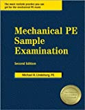 img - for Mechanical PE Sample Examination Second edition by Lindeburg PE, Michael R. (2009) Paperback book / textbook / text book