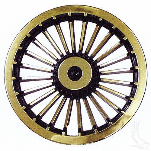 "8"" Golf Cart Turbine Wheel Covers Hub Caps (Set Of 4)"