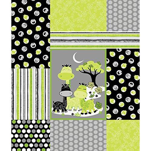 Gigi Giraffe Fusible Applique Quilt Kit- (Giraffe Quilt Fabric compare prices)