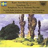 Symphonies 1 And 4 (Swedish Rso, Westerberg, Frykberg)