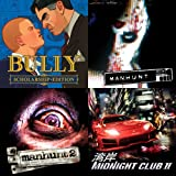 Bully + MANHUNT + MANHUNT 2 + Midnight Club 2 [Online Game Code]