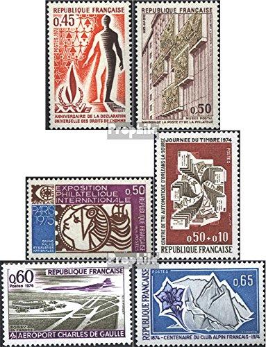 Frankreich 1861,1862,1863,1865,1866,1868 (kompl.Ausg.) postfrisch 1973 Sondermarken (Briefmarken für Sammler)