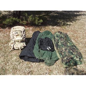 Molle Ii Desert Camo Standard Backpack Mss Goretex Military Modular Sleeping Bag System Dorakidbie