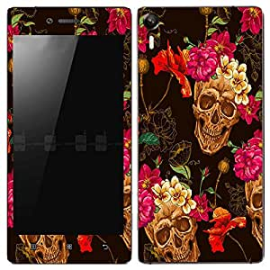 Theskinmantra Happy Skulls Lenovo Vibe Shot mobile skin