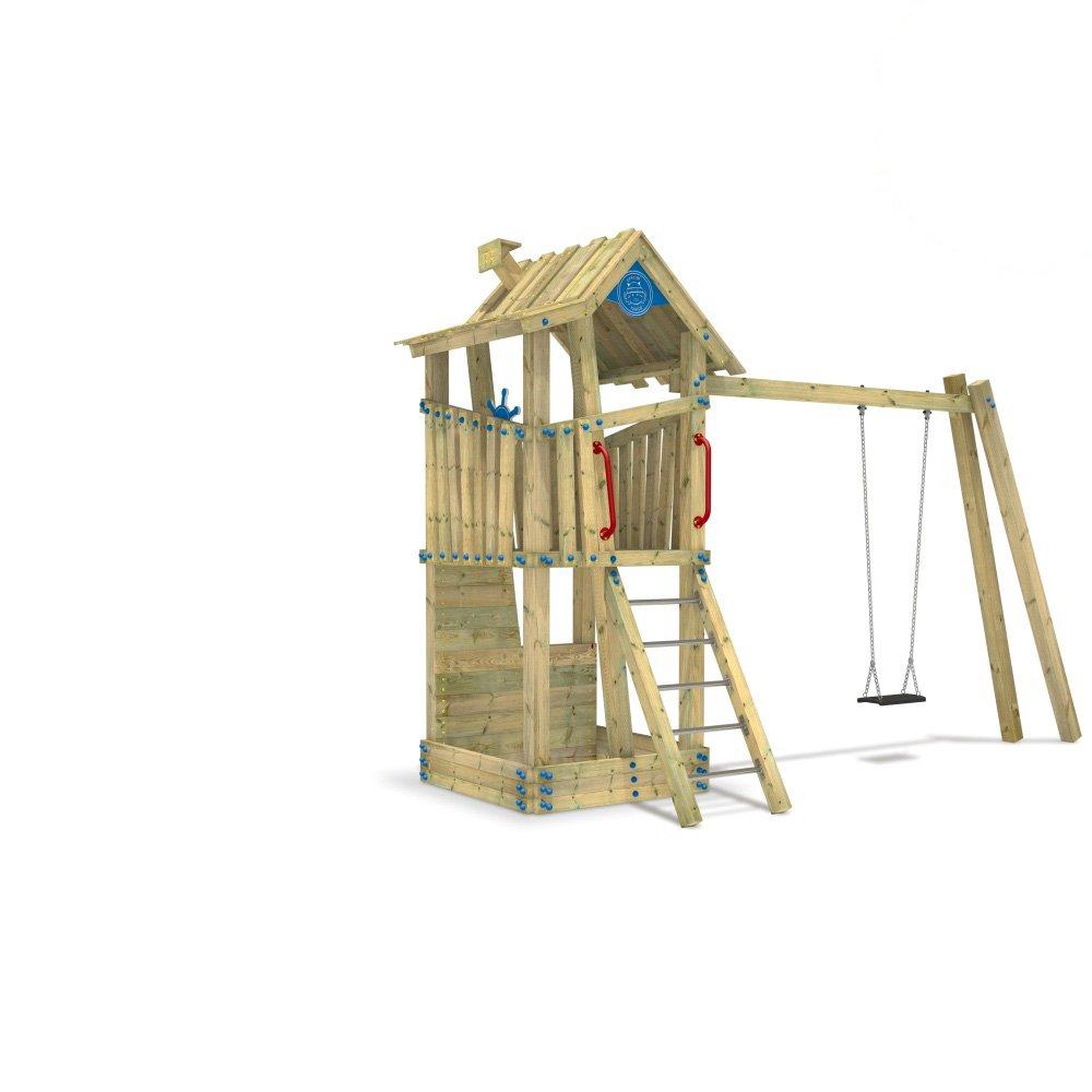 WICKEY Spielturm öffentlicher Kletterturm EN-1176 GIANT Treehouse G-Force für professionellen Gebrauch günstig online kaufen