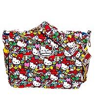 Bundle -3 Items:Ju-Ju-Be Better Be Messenger Diaper Bag -Hello Kitty Tick Tock & Bella B Honey Bum 2 oz & Bella B Babywipes 50 count from Ju-Ju-Be + Bella B