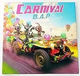 B.A.P BAP - CARNIVAL (5th Mini) [NORMAL ver.] CD + 40p Photobook + Photocard + Photocard + Folded Poster + Extra Gift Photocard Set by B.A.P BAP