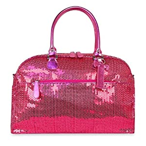 trumpette schleppbags diaper bag in fuchsia sequin large baby. Black Bedroom Furniture Sets. Home Design Ideas