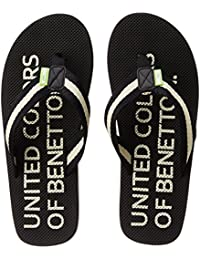 United Colors Of Benetton Men's Eva Flip-Flops And House Slippers - B014CR1CXK