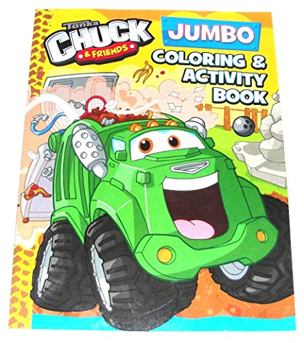 Tonka Chuck & Friends Rowdy Bendon Coloring & Activity Book 96 Total Pages