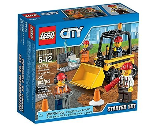 Lego City 60072 Demolition Starter Set One Size Multi-Colored by LEGO