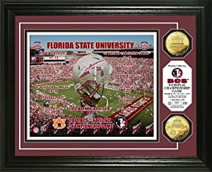 Highland Mint Florida State 2014 Bcs National Championship Gold Coin Photo Mint by Highland Mint