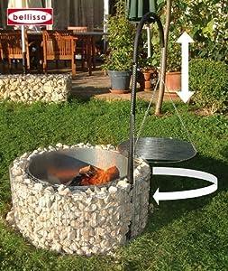 Feuer und Grillstelle Gabione Ø 92, H.40 cm 95580  GartenKundenbewertung und Beschreibung