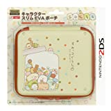 Nintendo and San-X Official Kawaii 2DS Hard Case -Sumikko Gurashi (Things in the Corner) Candy Store-