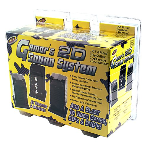 Universal Gamers 2D Sound System - Playstation 2
