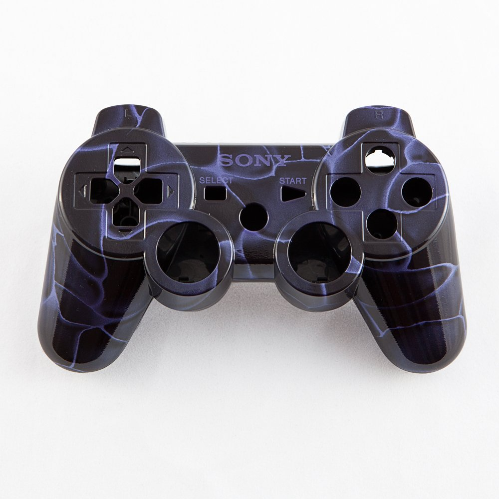 Candy Purple Swirl Hydro-Dipped Custom Controller Shell for PS3 deep purple deep purple stormbringer 35th anniversary edition cd dvd