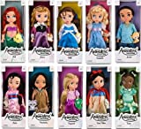 Disney Animators Toddler princess dolls set rapunzel bell snow white pocahontas