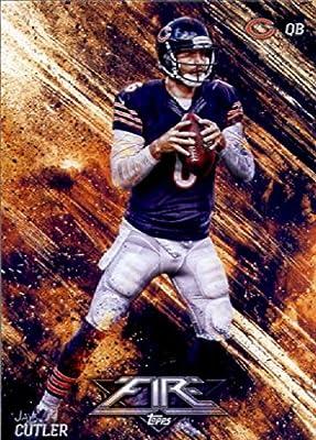 2014 Topps FIRE Football Card #80 Jay Cutler - Chicago Bears MINT