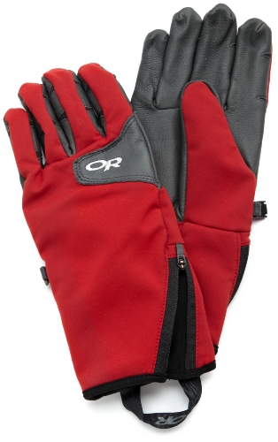 Outdoor Research Men's Stormtracker Gloves (Chili/Charcoal,