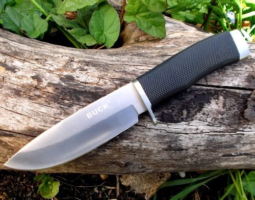 Bu-S Steel Tactical Hunting Survival Knife .Delivered From Uk In 3-5 Working Days By Royal Mail Packet