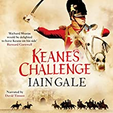 Keane's Challenge: Keane, Book 2 (       UNABRIDGED) by Iain Gale Narrated by David Timson