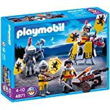Playmobil - 4871 - Jeu de construction - Soldats du Lion