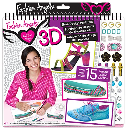 Fashion Angels 3D Shoe Designer Portfolio - 1