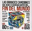 Las Grandes Canciones Que Debes Escuchar Antes Del Fin Del Mundo Los 80's (3cd's + DVD)Varios Artista
