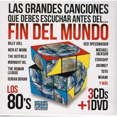 Escuchar Antes Del Fin Del Mundo Los 80's (3cd's + DVD) Varios Artista
