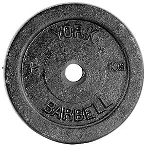 York 5kg Standard Cast Iron Discs - 4 x 5kg