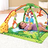 Fisher-Price Rainforest Melodies & Lights Deluxe Gym From Debenhams