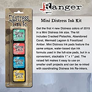 ranger tim holtz distress mini ink pad kits kit 13 everything else. Black Bedroom Furniture Sets. Home Design Ideas