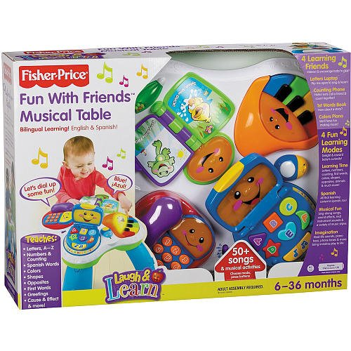 Laugh & Learn Around the Town Learning Table - Fisher-Price