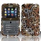 For Samsung S390g (StraightTalk/Net 10/Tracfone) Full Diamond Design Cover - Cheetah FPD