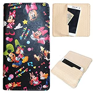 DooDa PU Leather Quality Case Cover Pouch For Nokia Asha 500 / 500 Dual sim