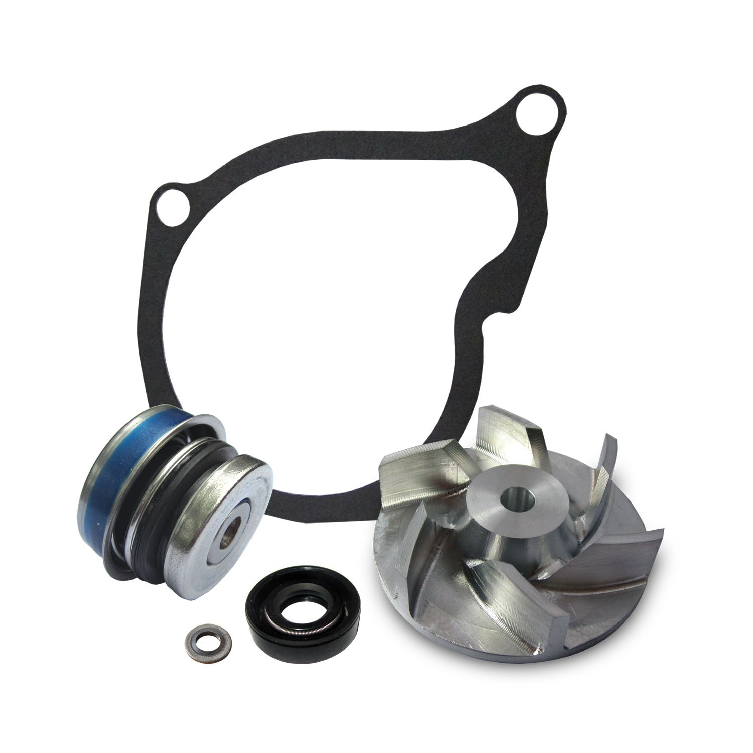 Polaris Sportsman 400 500 Water Pump Rebuild Kit with Billet Impeller polaris sportsman 400 500 water pump rebuild kit with billet impeller