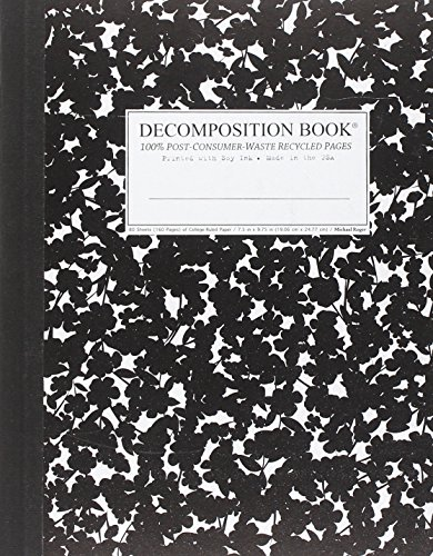 Cherry Blossom Decomposition Book: College-ruled Composition Notebook With 100% Post-consumer-waste Recycled Pages