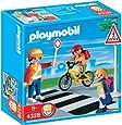 Playmobil - 4328 - Jeu de construction - Agent de sécurité et écoliers